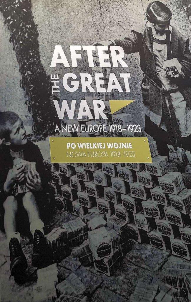 wystawa plenerowa Międzynarodowa wystawa plenerowa - PoWielkiej Wojnie. Nowa Europa 1918–1923 1