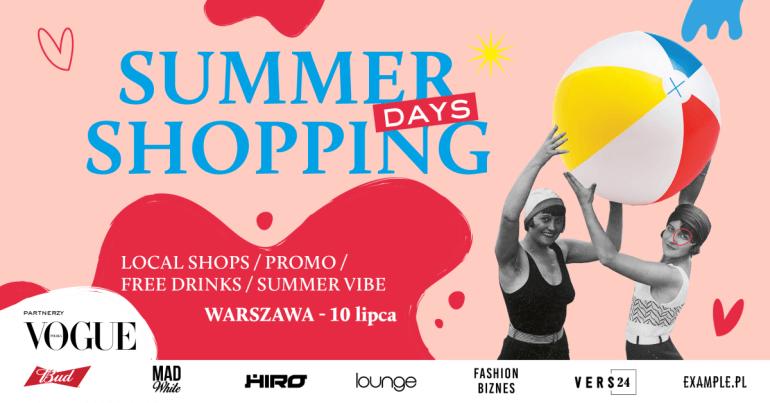 Poznań, Kraków, Wrocław i Trójmiasto ruszają na zakupy w ramach akcji.Summer Shopping Days!