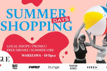 Poznań, Kraków, Wrocław iTrójmiasto ruszają nazakupy wramach akcji.Summer Shopping Days!