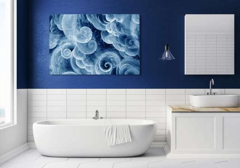 Abstrakcyjny obraz Abstrakcyjny obraz – odważ się nanowoczesną dekorację wnętrza 3