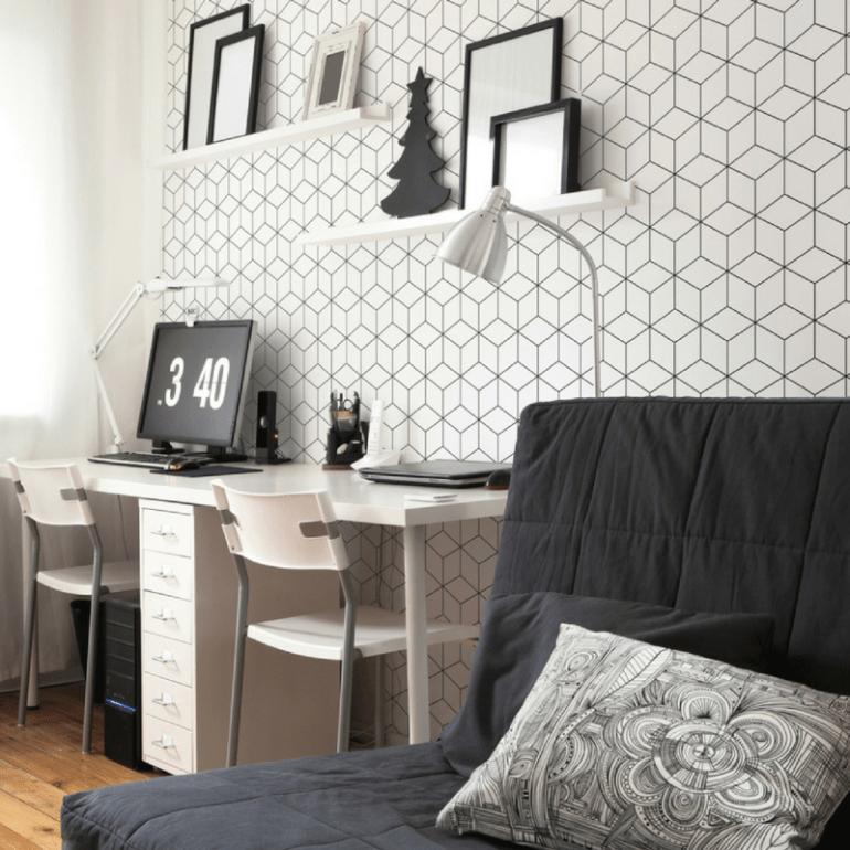Tapety inspirowane geometrycznymi wzorami do różnych stylów