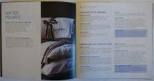 United Polaris business class menu
