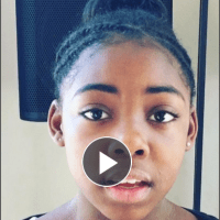 Tichina Arnold's Daughter (Alijah) Sings for the Lord