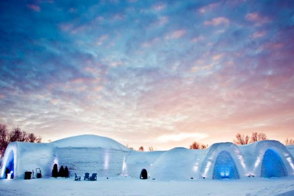 Village des neiges - Igloos