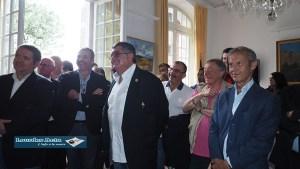 Lourdes : sympathique réception en Mairie du Comité de la Fédération Française de Rugby