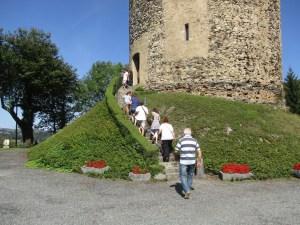De nombreux visiteurs pour les Journées Européennes du Patrimoine 2018 au château des Angles