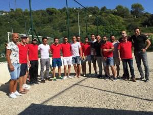 L'équipe de foot du Centre Hospitalier de Bigorre en tournoi ce dernier weekend à Nice