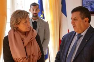 Lourdes : Une Délégation de Bethléem en visite de travail