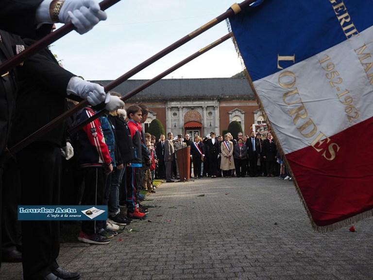 Lourdes : un 100ème anniversaire de l'Armistice du 11 Novembre 1918 fêté avec émotion et de belle tenue !