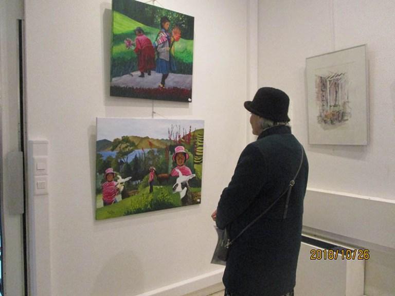 Lourdes : Vernissage de l'expo de l'Atelier