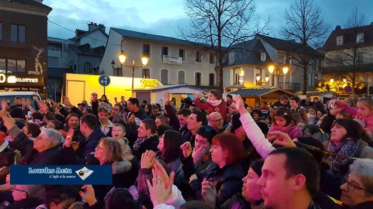 Read more about the article Un début de vacances de Noël féerique à Lourdes