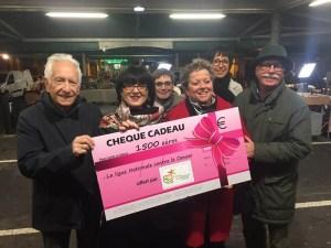 Read more about the article Lourdes : Remise du Chèque du CACL à la Ligue contre le Cancer