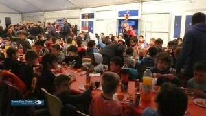 Lourdes : belle ambiance à l' Arbre de Noël de l'école de rugby FCL XV du «Pays de Lourdes»