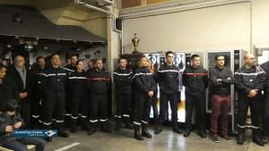 Lourdes : les Pompiers ont fêté la Sainte Barbe