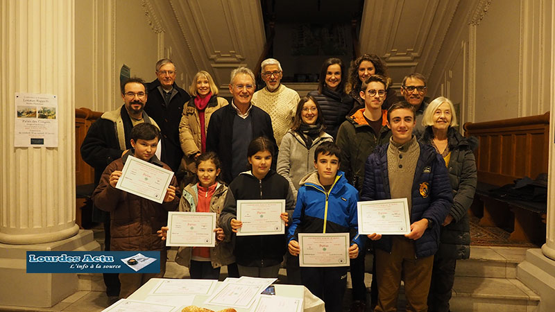 Lourdes : l'Ensemble Musical Lourdais a remis diplômes et prix et a fêté les Rois