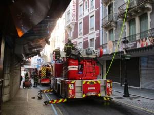Lourdes : Incendie dans un ancien hôtel du Boulevard de la Grotte