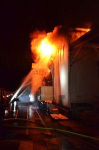 Lourdes : l'usine Toupnot ravagée par les flammes