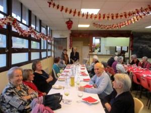 Read more about the article Lourdes : Goûter de Noël du Club du 3ème âge de la Serre de Sarsan