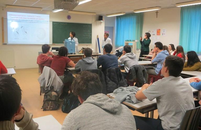 Lourdes : Quand les industriels viennent à la rencontre des jeunes du lycée Peyramale !