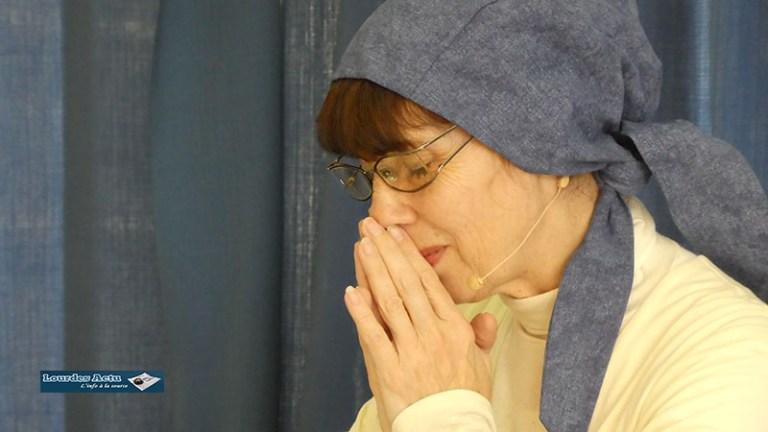 Lourdes : «Les lettres de Bernadette» ont ému les spectateurs