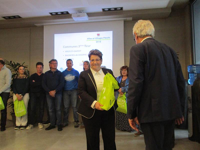 Lourdes : 3ème Fleur maintenue au concours départemental Villes et Villages fleuris