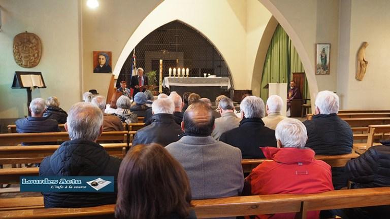 Lourdes : le Comité de La Légion d'Honneur a rendu hommage à Michel Crauste