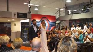 Lourdes : beau Défilé de mode chez Renault à l'occasion de la présentation de la nouvelle Clio