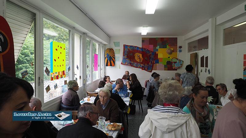 Lourdes : Repas gourmand préparé par l'Epicerie solidaire au foyer Myriam