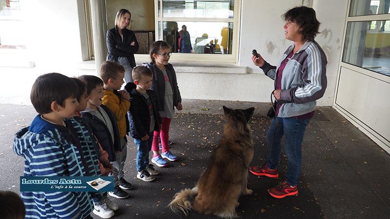 Lourdes : les enfants de l'école maternelle de Darrespouey à la découverte des risques de la nature