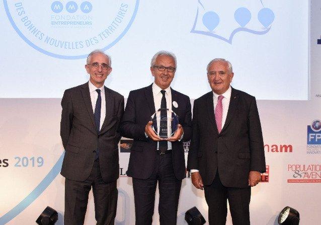 10ème édition du «Grand Prix des Bonnes Nouvelles des Territoires» : la vallée du Louron a reçu le Grand Prix  de la catégorie « Écosystème territorial »
