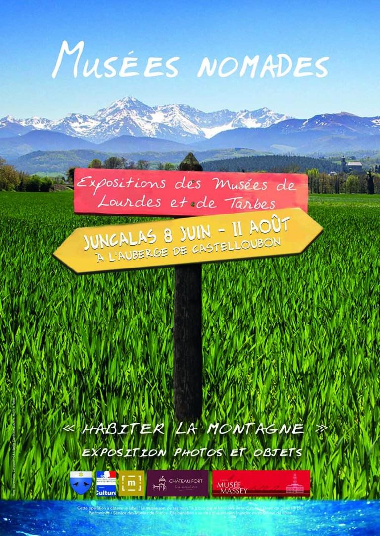 Juncalas/Lourdes/Tarbes : Actions autour de l'exposition hors les murs Musée Nomades – «Habiter la montagne»