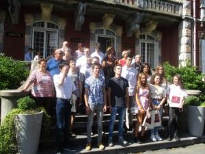 Read more about the article Lourdes : les Bacheliers mention Très Bien reçus en Mairie