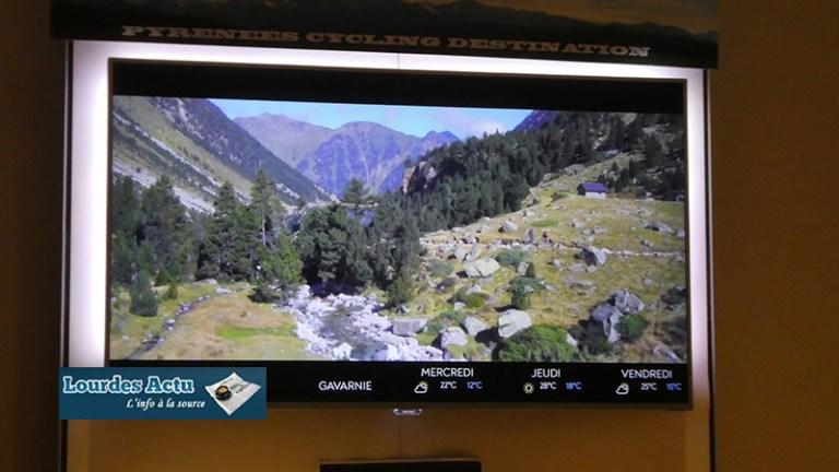 Lourdes : déploiement d'une chaîne d'information touristique «Pyrénées TV» par le PLVG