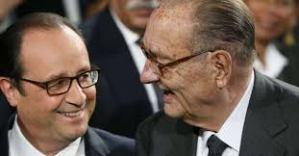Jacques Chirac : «Je voterai pour François Hollande» et oui…