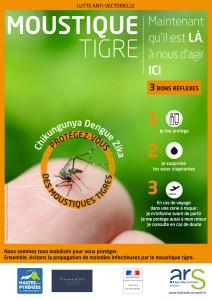 Lourdes : Sensibilisation en porte à porte au sujet du moustique tigre le 16 octobre