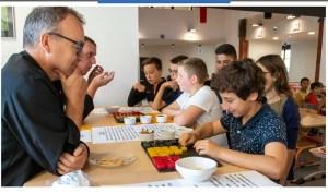 Communiqué du Conseil Départemental : Semaine du goût dans les collèges