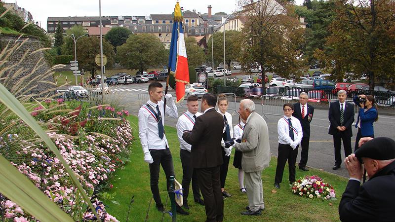 Lourdes : cérémonie de nominations de jeunes portes-drapeaux