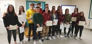 Lourdes : Cérémonie républicaine de remise des diplômes du Brevet des collèges et du certificat de formation générale au collège de Sarsan