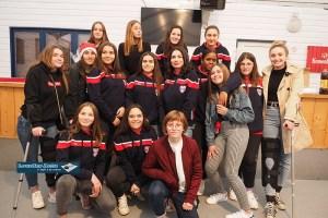 lourdes : Les cadettes du FCL XV ont reçu leur nouvelle tenue