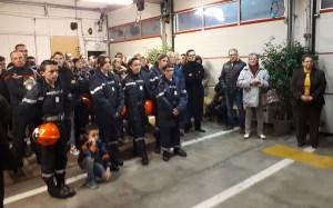 Lourdes : les Pompiers ont fêté la Sainte Barbe !
