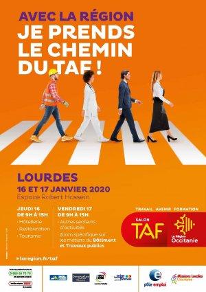 Lourdes : Venez vous faire recruter au 2ème salon «TAF» les 16 et 17 janvier