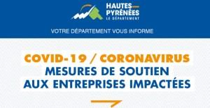 COVID-19 / CORONAVIRUS : Mesures de soutien aux entreprises impactées dans le 65