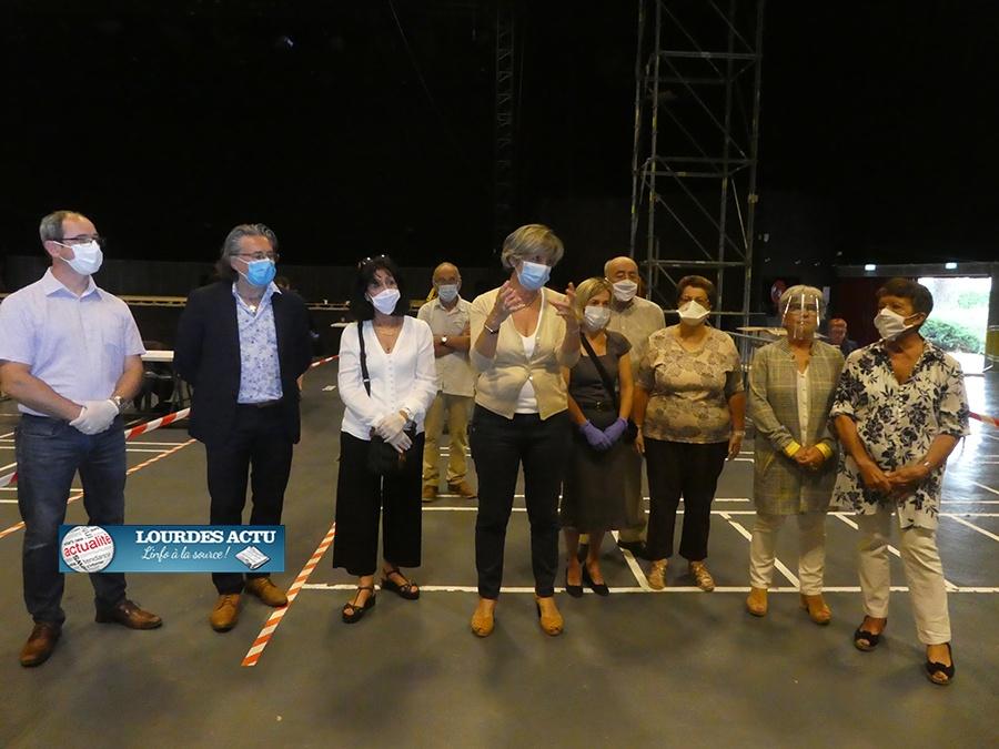 Lourdes : Mardi 2 juin et Mercredi 3 juin distribution gratuite d'un masque lavable à chaque Lourdais
