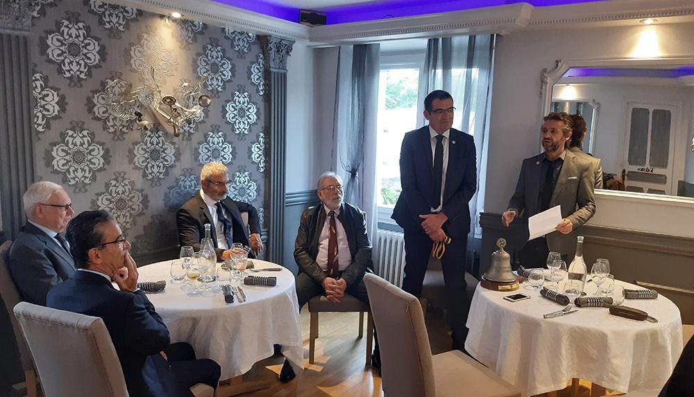 Marc Nogaro nouveau Président du Rotary Club de Lourdes