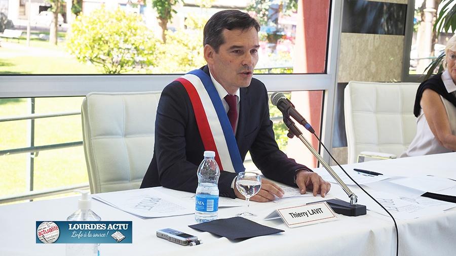 Thierry Lavit élu Maire de Lourdes