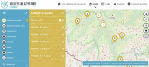Vallées de Gavarnie : une carte interactive qui recense l'offre touristique