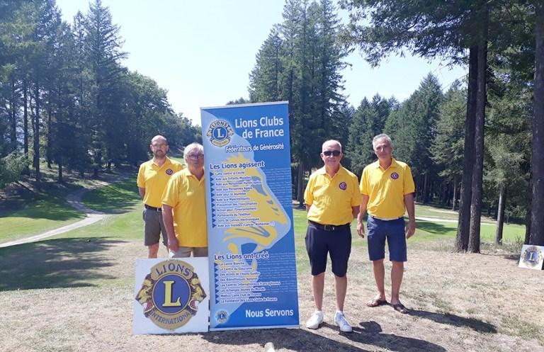 Lourdes : L'Association Sportive du Golf au service du Lions Club