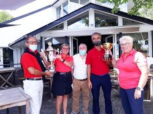 L'équipe seniors hommes du Golf Club de Lourdes Championne Départementale 2020