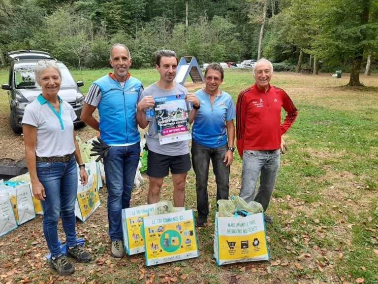 L'Union Athlétique Lourdaise présente à la «Journée Mondiale du Nettoyage»