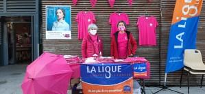 La Ligue contre le cancer 65 a participé assidûment à Octobre Rose à Lourdes